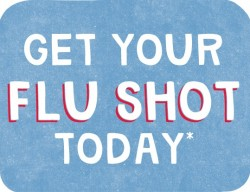 The earlier you get your Flu shot the better!